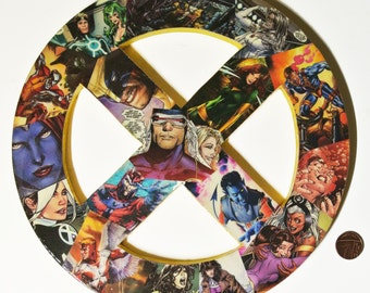 X-Men Wall Plaque (made to order)