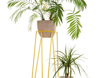 Mid-century Modern Wire Plant Stand L Size + Plant stand S Size at Special Price!