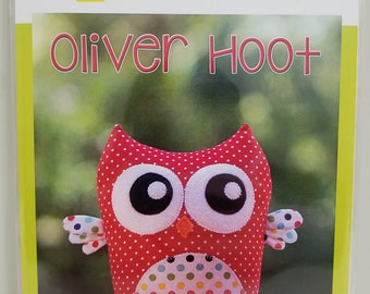 Melly and Me OLIVER HOOT Owl new craft pattern #MM140