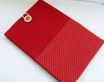 "13 Inch Laptop Case, Macbook Pro 13 Inch Cover, Macbook Air 13 Inch Cover, Macbook Pro Laptop Case, Red Sleeve, 15 1/2"" x 10 1/4"""