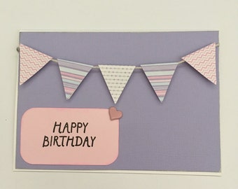 Handmade Card - Happy Birthday (HB01)