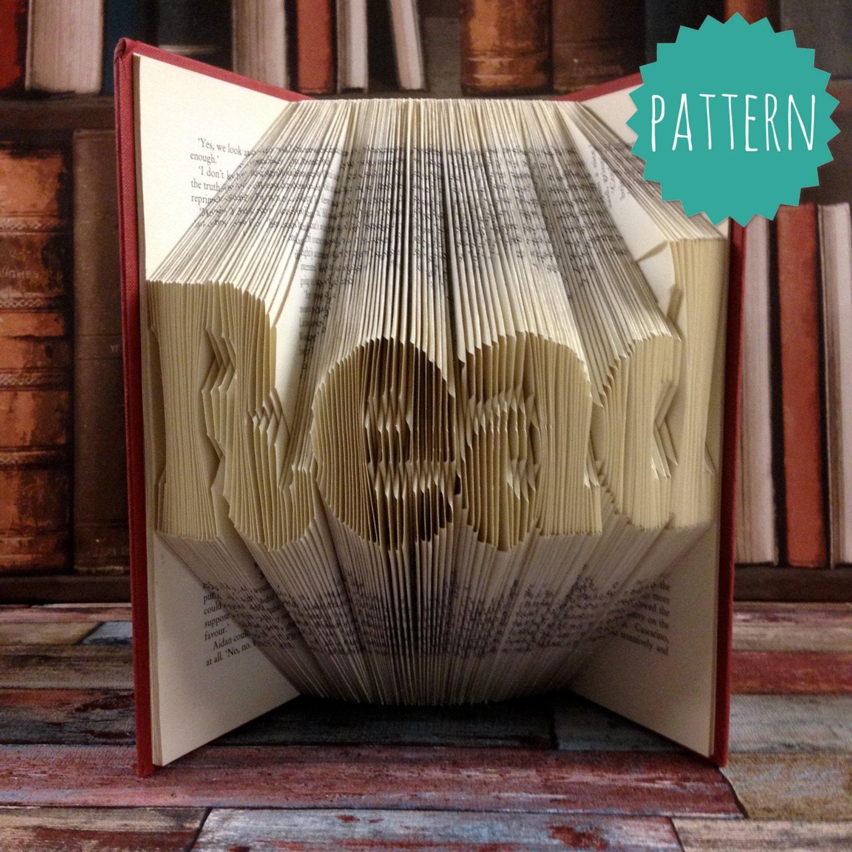 Folded Book Patterns New Design Ideas