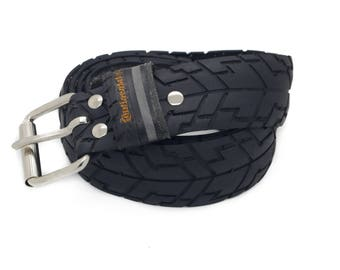 """Bicycle Tire Belt """"CONTINENTAL 40mm"""" (upcycled vegan handmade) by tirebelt.com - Fall Collection 2016"""