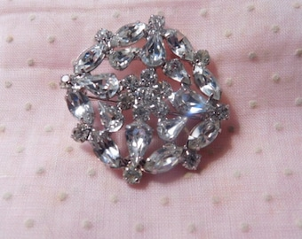 Sale - Vintage Rhinestone Brooch or Pin for Mother's Day