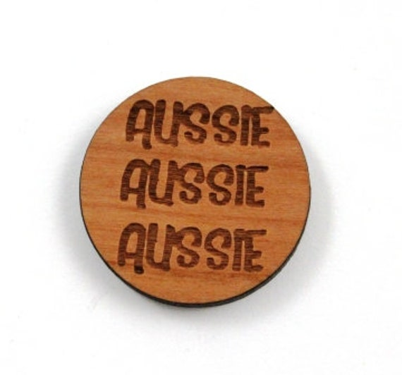 Laser Cut Supplies-1 Piece Aussie Charms-Acrylic and Wood Laser Cut-Jewelry Supplies-Little Laser Lab Wood and Acrylic Products