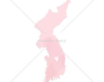 Beautiful Korea Map