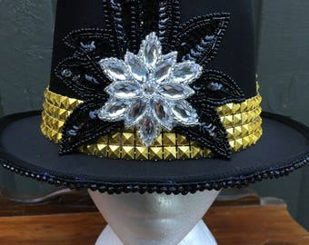 Gold and Silver Tophat