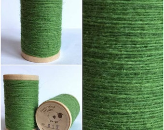 Rustic Moire Wool Thread #816 for Embroidery, Wool Applique and Punch Needle Embroidery