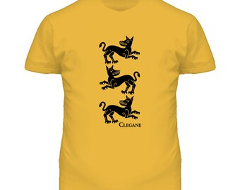 House Clegane Game Of Thrones T Shirt