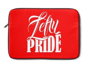 Lefty Pride Laptop Sleeve  Red