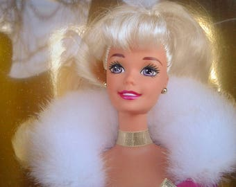 1994 Winter Rhapsody Barbie special edition avon still in box FREE SHIPPING