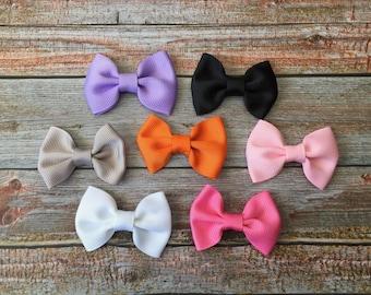 MINI Baby Bow Headbands, Baby Headband, Newborn Headband, Bow Headband, Baby Bow Headband, Baby Bow, MINI Bow, Baby Girl Headband, Headband