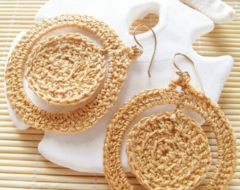 35mm Crochet Earrings