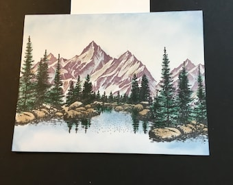 Scenery Greeting Cards