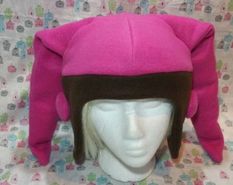 Twi'lek Star Wars Alien Inspired Fleece Hat Handmade
