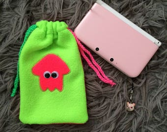 Splatoon 3DS XL Neon Pouch Carrying Case