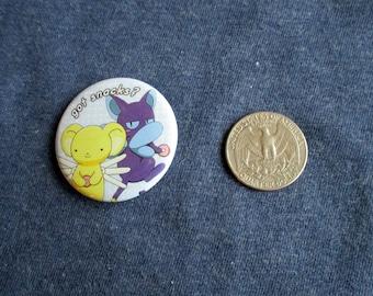 Card Captor Sakura - Kero and Spinner Button