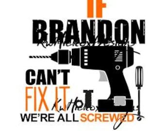 Hardware Svg, Screwdriver Svg, Tools Svg, Screws Svg, Dxf For Silhouette, Fix It Svg, Drill Svg