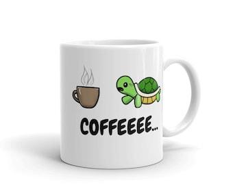 Cute Turtle Coffee Mug
