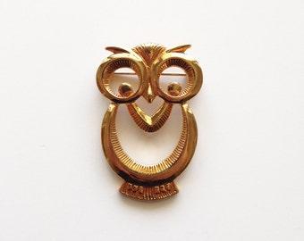 Vintage Owl Brooch