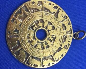 Chinese Horoscope Medallion