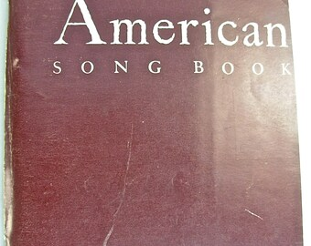 ALL AMERICAN Song Book, Sheet Music,  1942, Community Singing, Robbins Music Corp.