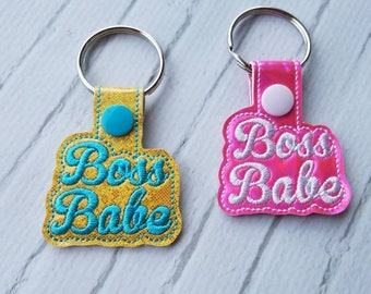 Boss Babe Keychain