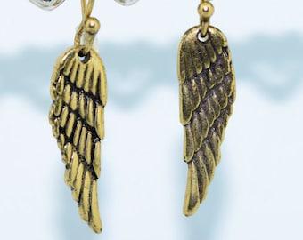 Vintage Winged Earrings