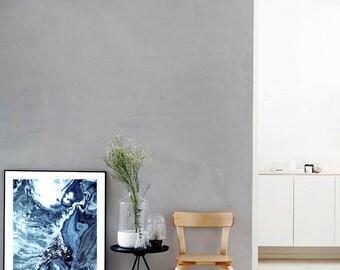Waves V Print (Paint, Acrylic, Abstract, Fluid Painting, Wall Art, Home Decor, Unframed or Framed print)