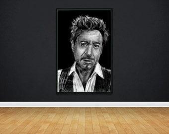 Robert Downey JR Poster | Wall Art