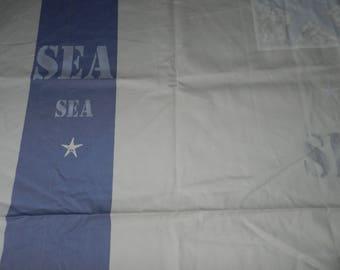 Nautical fabric coupon