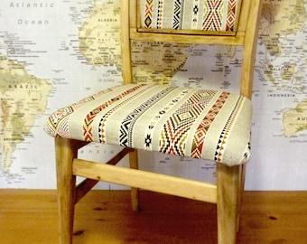 Chair vintage folk