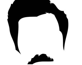 Ron Swanson Decal