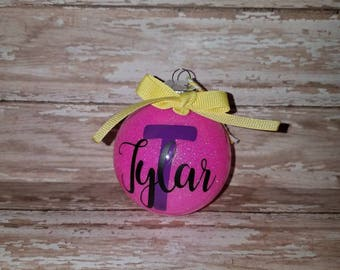 Personalized Christmas Ornament,  Christams ornament, name ornament