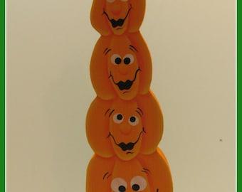 Table Top Stack Pumpkins