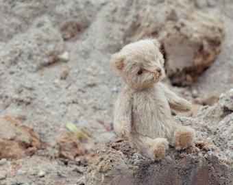Made to order  Miniature artist teddy bear