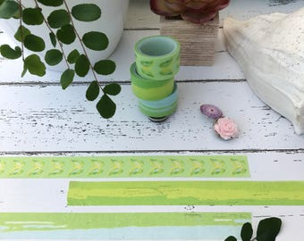 SAMPLE Watercolor Washi Tape - Washi By The Yard
