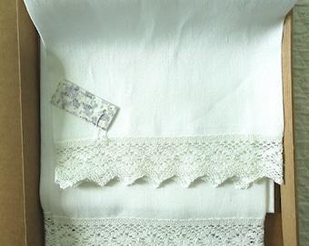 Linen towel creps, 65 x 70 cm