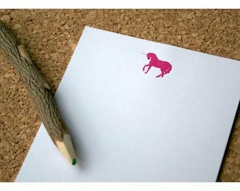 Unicorn Personalized Notepad