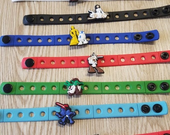 10  Star Wars Silicone Bracelets Party Favors