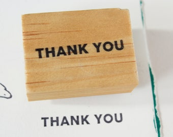 thank you rubber stamp / thank you stamps