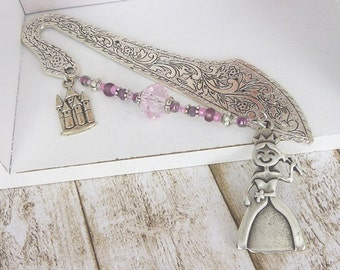 Bookmark for princesses / gift for kids / gift for girls / fairy tales