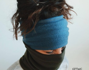 Fleece Mask / Headband / Neck / Fleece Headband / Warmer, Cycling Mask, Outdoor, Face Mask, , Warm Headband, Winter Headband, Fleece
