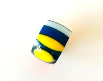 Band Ring made from Corian®-Design Ring-One of a kind