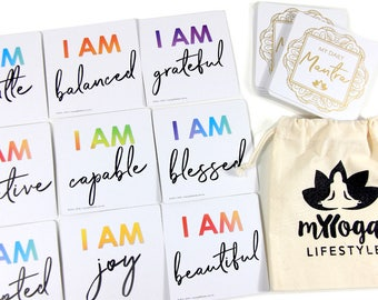 I AM ~ My Daily Mantra Cards