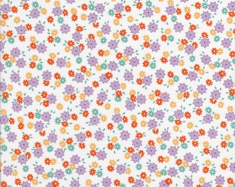 Penny's Pet's by Darlene Zimmerman for Robert Kaufman ADZ1618326 - Floral Fabric, Reproduction Fabric - Cotton Fabric