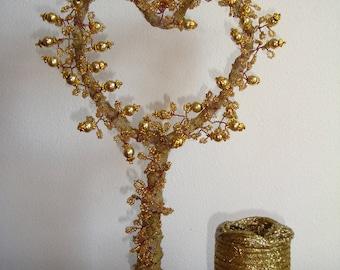Hand made beads treeValentine Bonsai tree,  Tree of love, Tree of Life, Gem Tree, Gem Bonsai Tree,