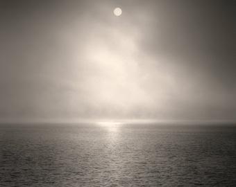 landscape photography, lake house decor, lake house art, lake photography, coastal, black and white photography, ocean