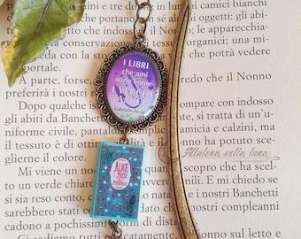 Bookmark Alice in Wonderland-mini book-Bookmark