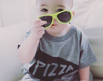 Kid Baby Shirt Pizza, boy gift, girl gift, unisex toddler gift, funny childs clothes, tween tee, teen tshirt